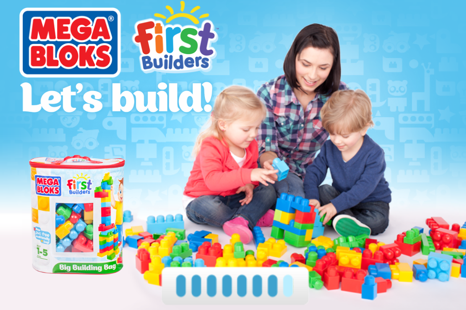 Screenshot Mega Bloks® First Builders™ Let's Build!